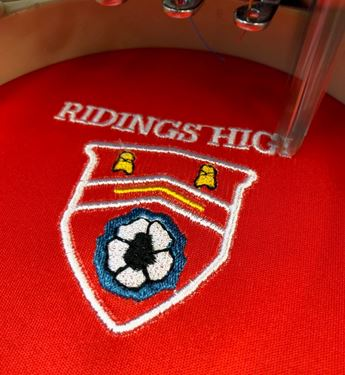 Picture of Embroidered Badge Set Up Cost
