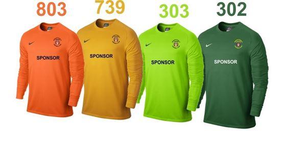 824bdccaeba Doug Hillard Sports. Nike Park Goalkeeper Kit