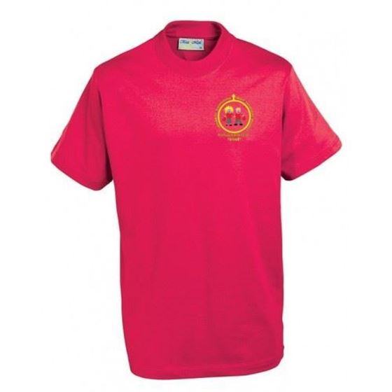 Picture of Pucklechurch- PE T-Shirt (RED)