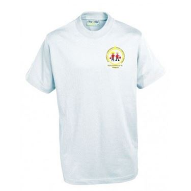Picture of Pucklechurch- PE T-Shirt (WHITE)