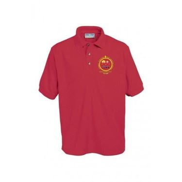 Picture of Pucklechurch- Polo Shirt (RED)