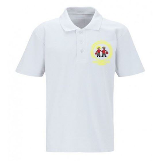 Picture of Pucklechurch- Polo Shirt (WHITE)