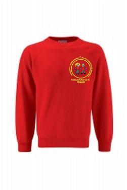 Picture of Pucklechurch- Round neck Sweatshirt (RED)