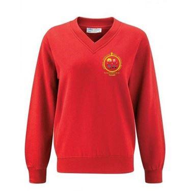 Picture of Pucklechurch- V-Neck Sweatshirt