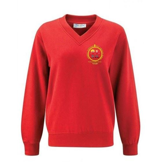 Picture of Pucklechurch- V-Neck Sweatshirt