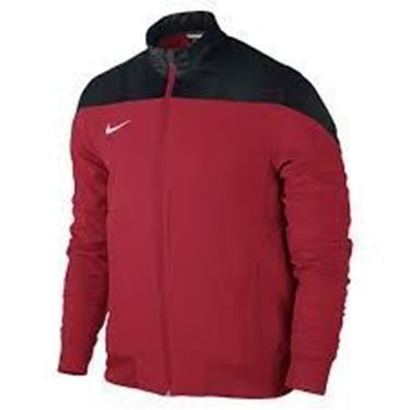 Picture of Nike Sideline Woven Jacket University Red/ Black