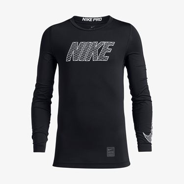 Picture of Nike Pro Compression Crew Top L/S (YOUTH)