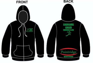 Picture of Emersons Green Running Club Zipped Hoodie