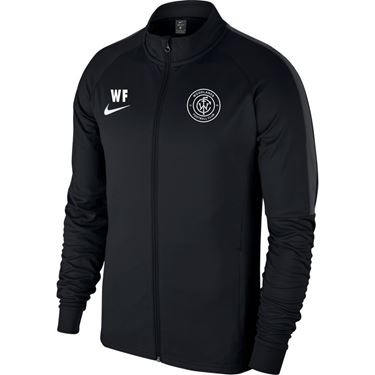 Picture of Woodlands FC Academy 18 Knit Track Jacket - Black