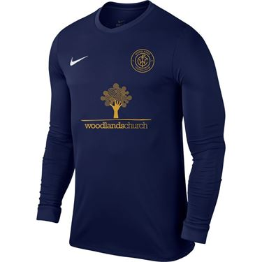 Picture of Woodlands FC Park VI Shirt - Midnight Navy