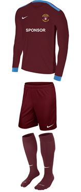 Picture of Mangotsfield United Juniors Match Day Kit L/S