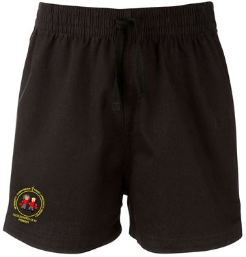 Picture of Pucklechurch Black PE shorts