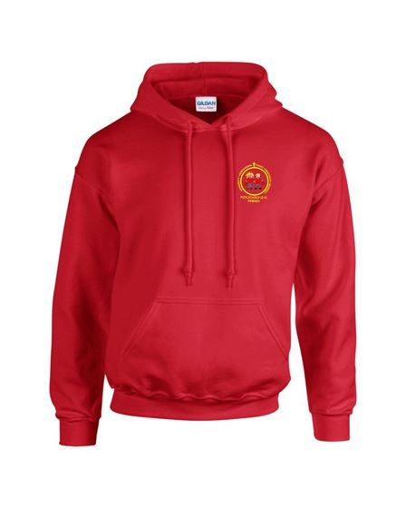 Picture of Pucklechurch PE Red Hoodie