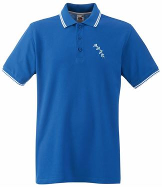 Picture of Bristol Rovers FC 'BRFC' Royal Tipped Polo