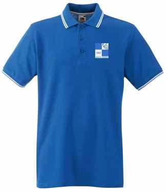 Picture of Bristol Rovers FC '1980' Royal Tipped Polo
