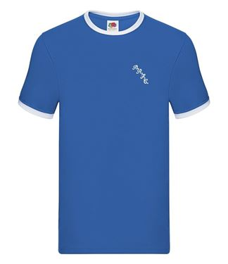 Picture of Bristol Rovers FC 'BRFC' Royal Tipped Tee