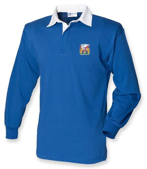 Picture of Bristol Rovers FC 'Coat Of Arms' Royal Jersey