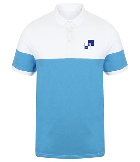 Picture of Bristol Rovers FC '1990' Marine/White Polo