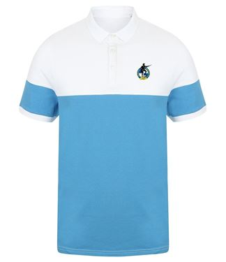 Picture of Bristol Rovers FC 'Crest' Marine/White Polo