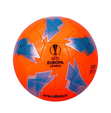 Picture of Molten UEFA Europa League 18/19 1000 Replica Football - Orange