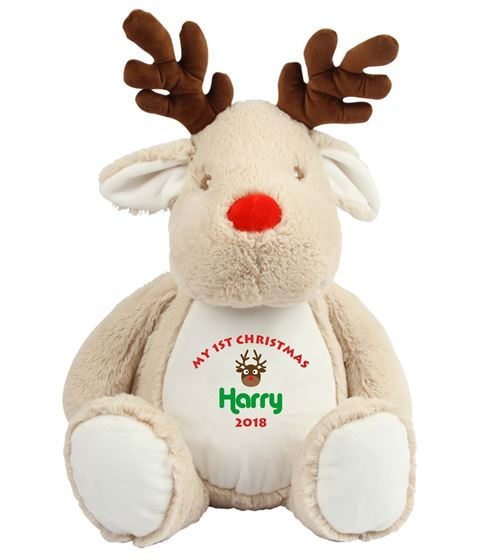Picture of Personalised Christmas Reindeer - My 1st Christmas