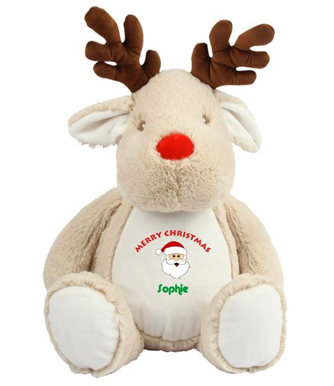 Picture of Personalised Christmas Reindeer - Merry Christmas