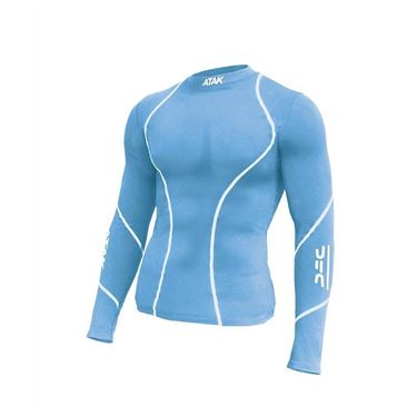 Picture of Atak Compression Top - Sky Blue