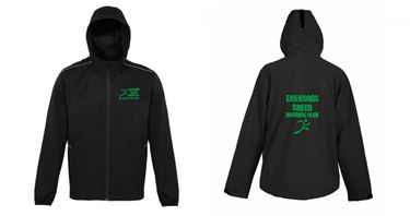 Picture of Emersons Green Running Club Ultra Light Soft Shell