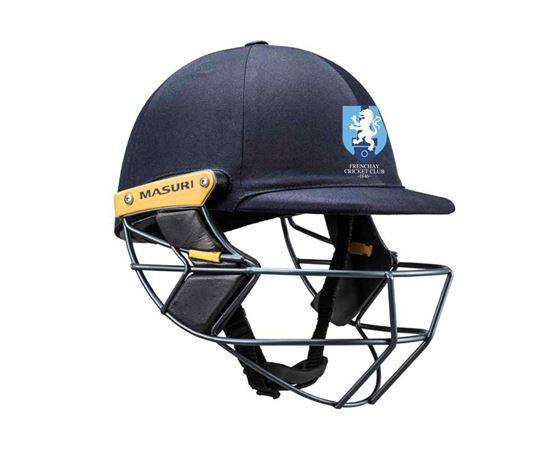 Picture of Frenchay CC Masuri Original Test Steel Senior Cricket Helmet