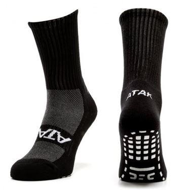 Picture of Plain Grip Mid Leg Socks
