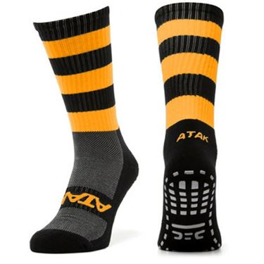 Picture of Hooped Grip Mid Leg Socks