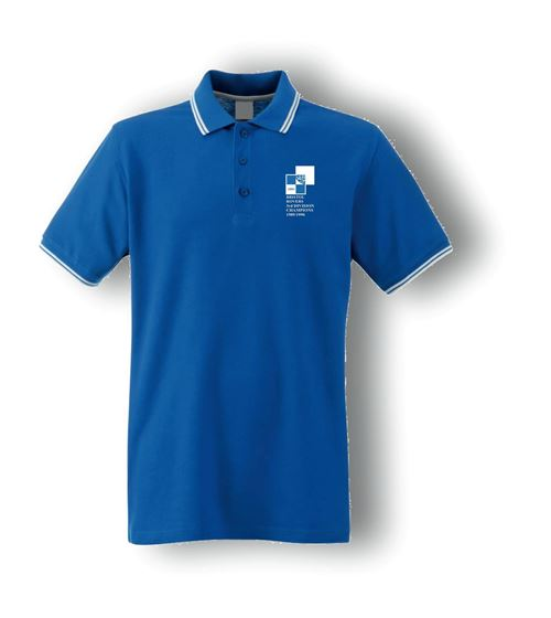 Picture of Bristol Rovers FC '1990 Champions' Royal Tipped Polo