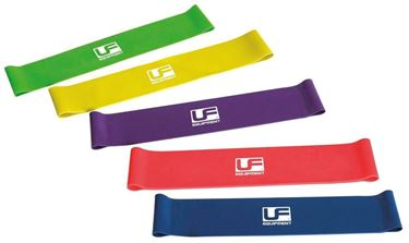 Picture of Urban Fitness Resistance Band Loop (Set of 5) 10 Inch