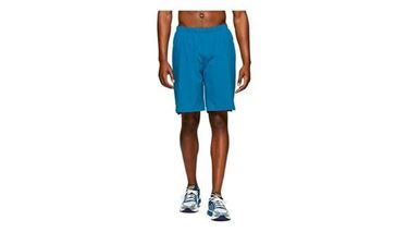 Picture of Asics Mens Running 2-N-1 7IN Short - Deep Sapphire/ Island Blue