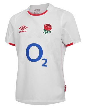 Picture of ENGLAND RUGBY HOME REPLICA JERSEY TOP KIDS - Official Licensed Product