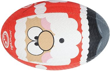 Picture of Optimum Christmas Santa Rugby Ball