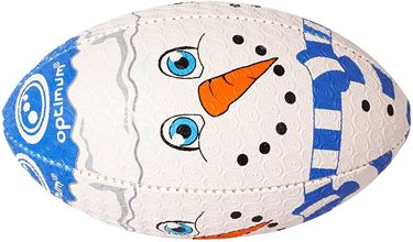 Picture of Optimum Christmas Snowman Rugby Ball
