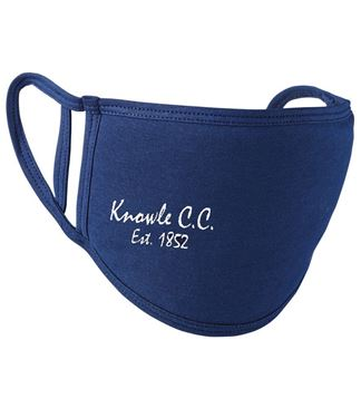 Picture of Knowle Cricket Club Adult Face Covering
