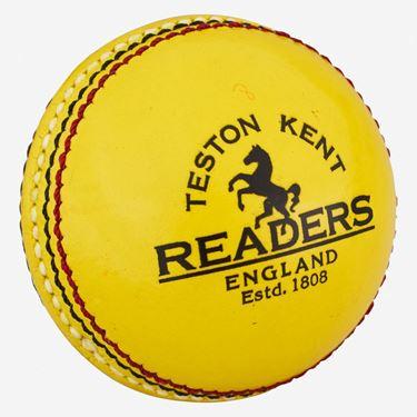 Picture of Readers Indoor Yellow Cricket Ball