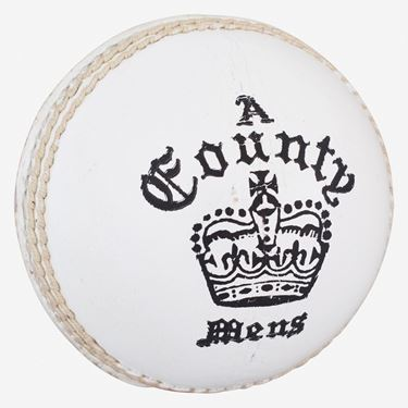 Picture of Readers County Crown Red & White Cricket Ball