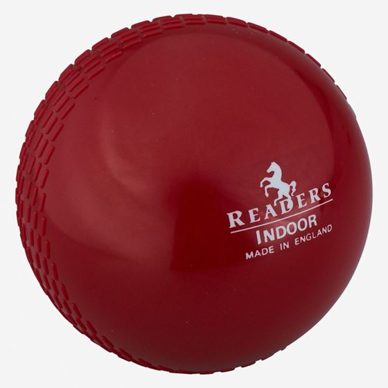 Picture of Readers Indoor 4oz Red Mens Cricket Ball