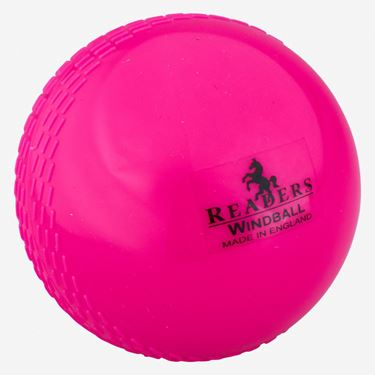 Picture of Readers Windball Pink Cricket Ball