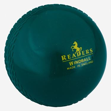 Picture of Readers Windball Bottle Green Cricket Ball