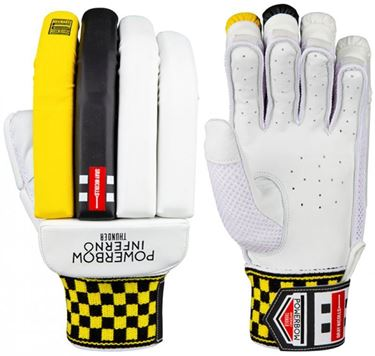 Picture of Gray Nicolls Powerbow Inferno Thunder Batting Gloves