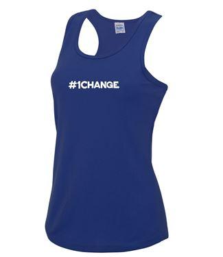 Picture of BSLM - #1CHANGE? - Ladies Royal Vest