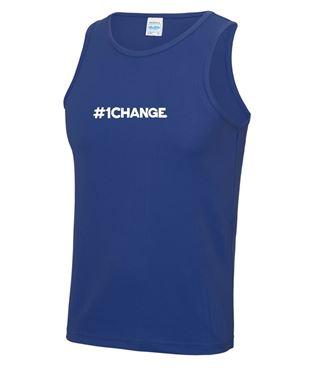 Picture of BSLM - #1CHANGE? - Men's Royal Vest