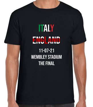 Picture of ENGLAND FINAL BLACK T-SHIRT